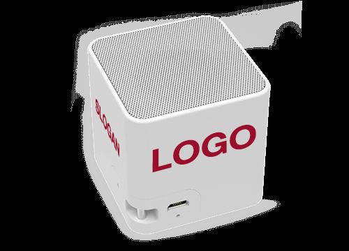 Cube - Lautsprecher Werbeartikel mit Logo