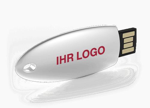 Ellipse - Bedruckte USB Sticks
