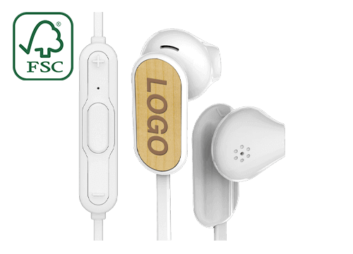 Grain Bluetooth® - Wireless in Ear Kopfhörer Günstig Bedrucken