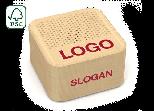 Seed - Lautsprecher mit Logo
