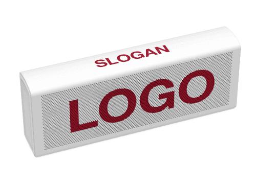 Unison - Lautsprecher mit Logo