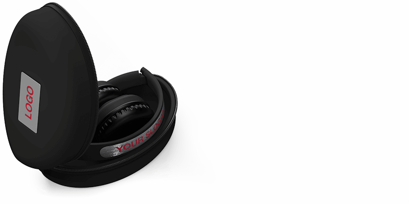 Indie - Kopfhörer mit Logo