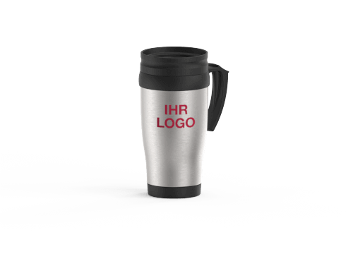 Thermo - Reisebecher mit Logo