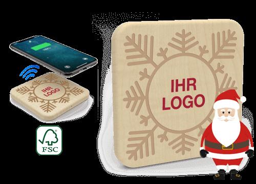 Forest Christmas - Wireless Ladegerät Bedrucken Günstig