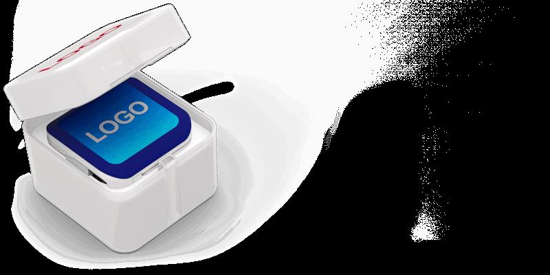 Boost - Powerbank Bedrucken