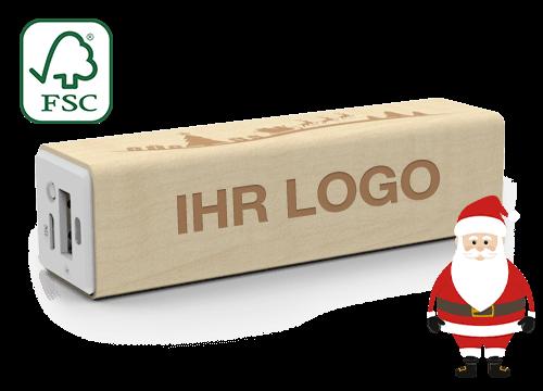 Maple Christmas - Powerbank Werbegeschenk