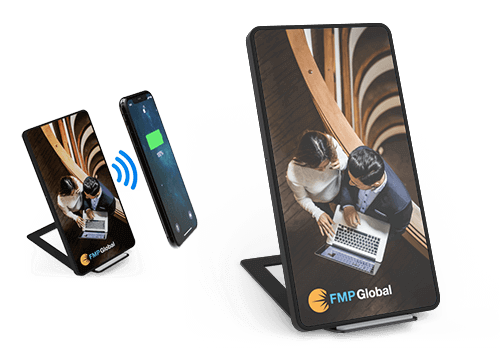 Stand - Wireless Ladegerät Bedrucken