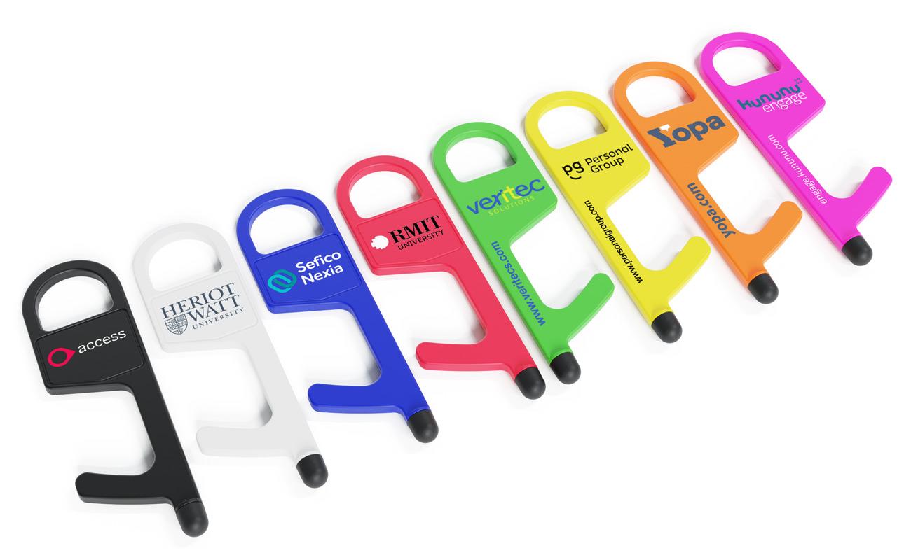 Buddy - Hygiene Schlüssel Werbeartikel