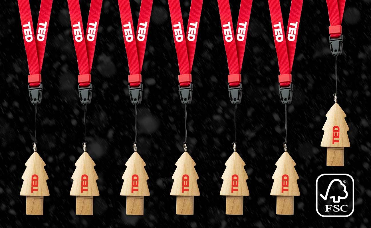 Christmas - USB Stick Bedrucken