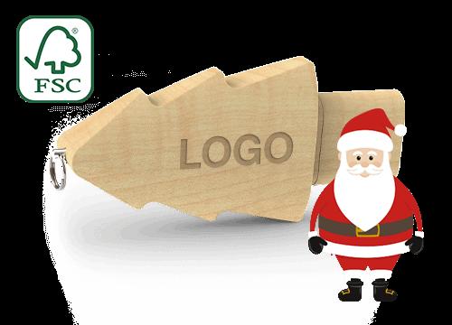 Christmas - USB Stick Logo