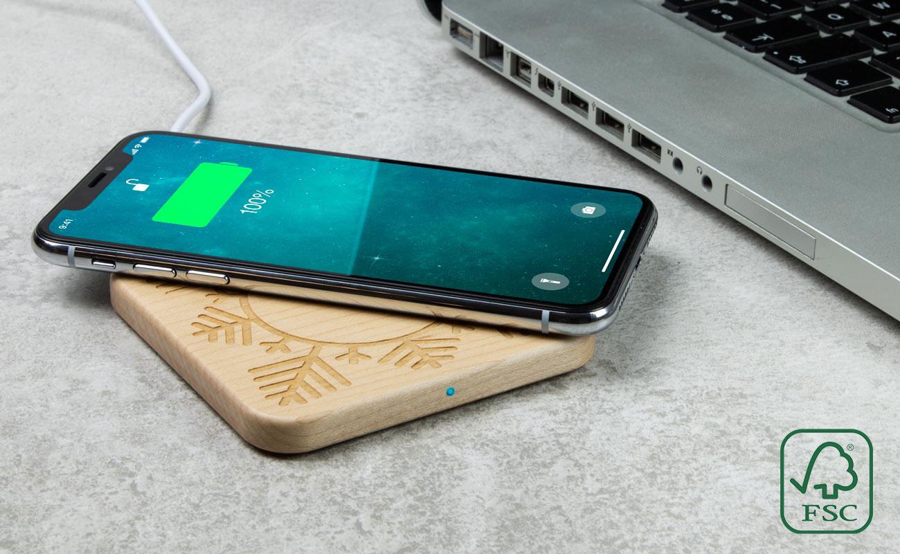 Forest Christmas - Wireless Ladegerät Günstig Bedrucken