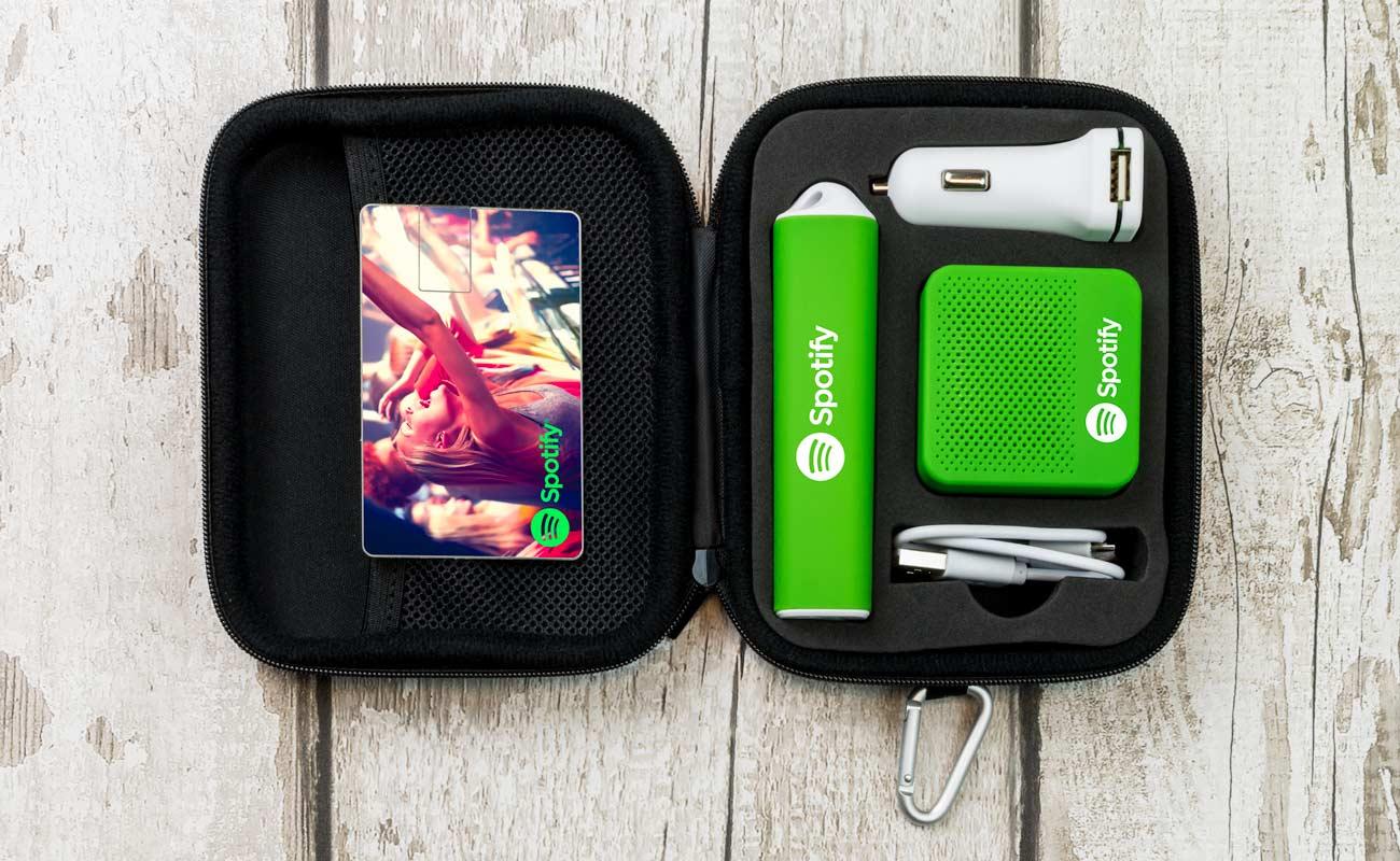Impact L - USB Stick Bedrucken, Powerbank Werbegeschenk, Custom Car Charger und Lautsprecher Hersteller
