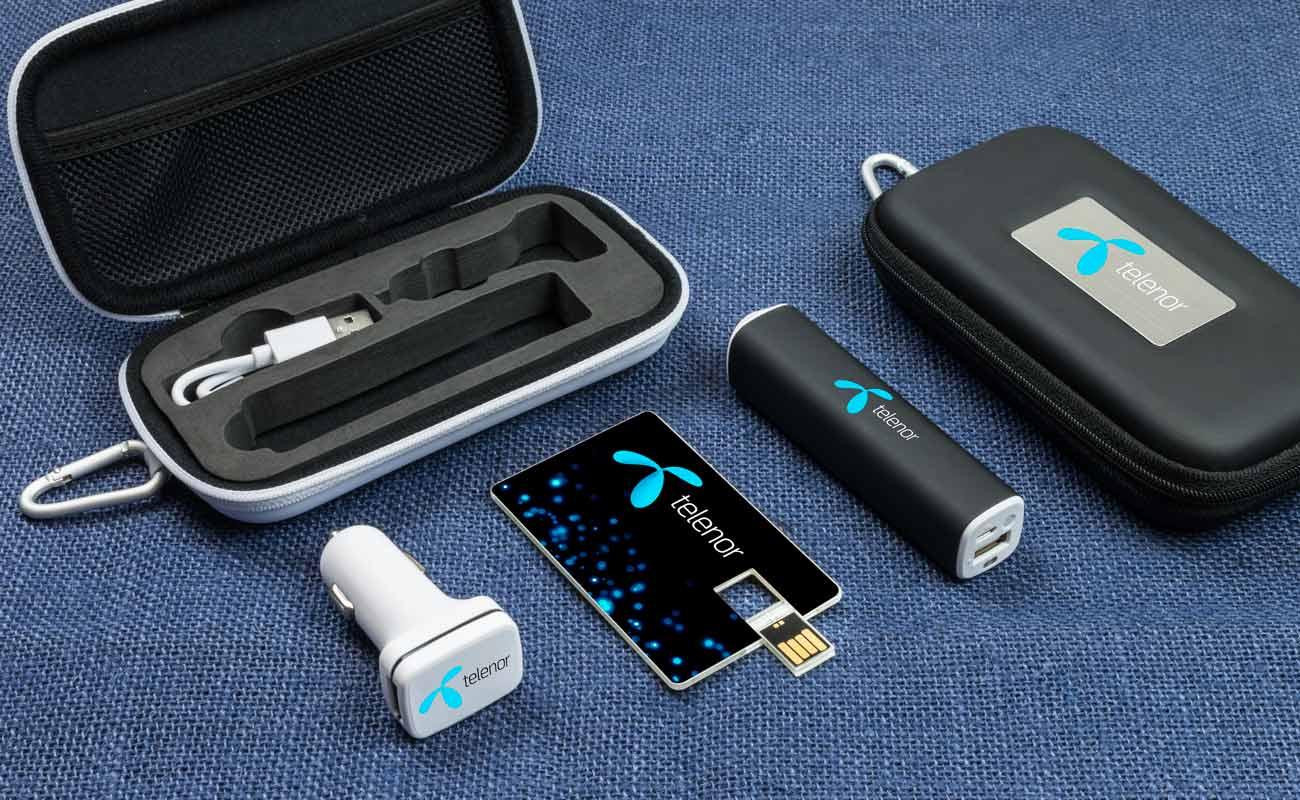 Impact M - USB Stick Bedrucken, Powerbank Werbegeschenk und Custom Car Charger