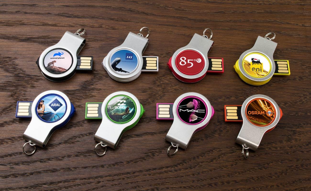Light - USB Stick Bedrucken