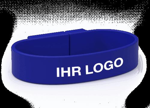 Lizzard - USB Armband mit Logo