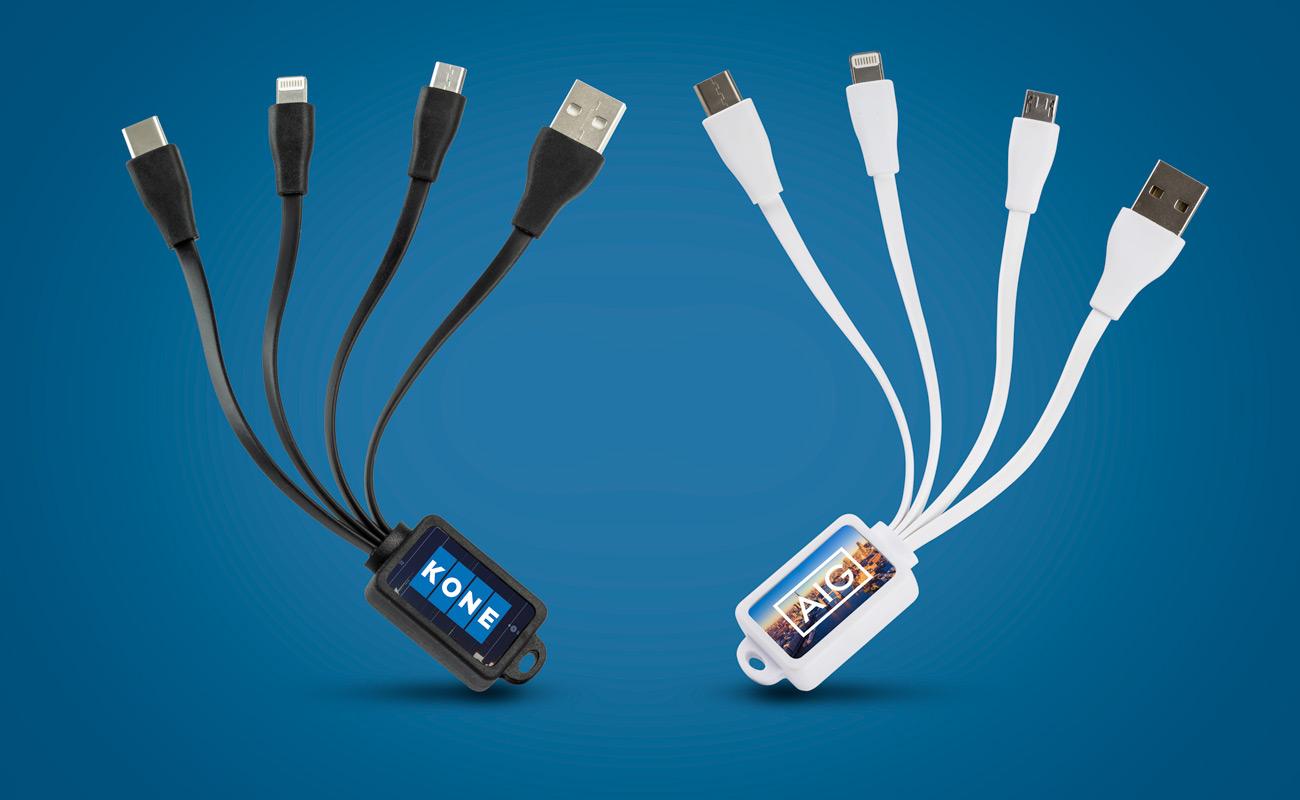 Multi - Promotional USB Cable Bundles