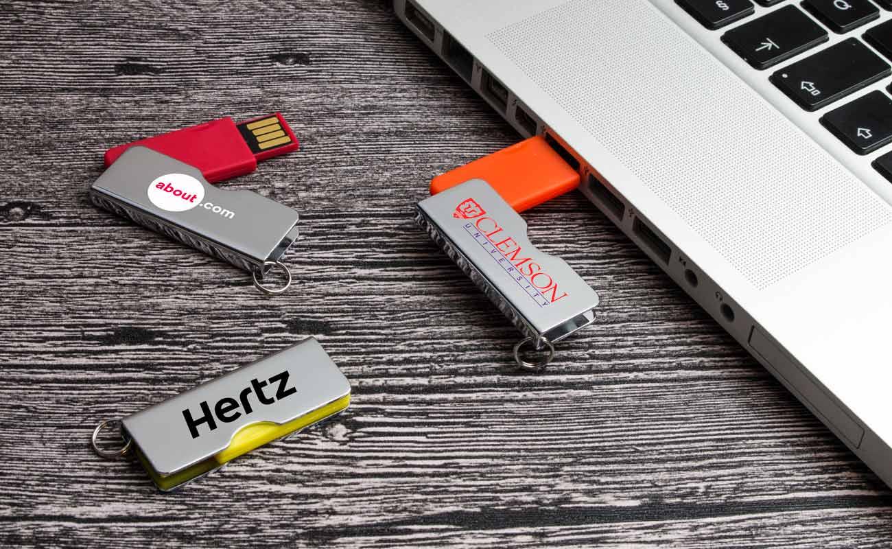 Rotator - USB Stick Bedrucken