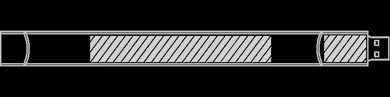 USB-Armband Siebdruck